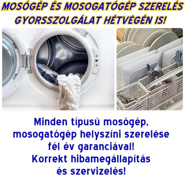 MOSOGATÓGÉP SZERVÍZ GYORSSZOLGÁLAT - Mosógépszerelés hétvégén is, mosogatógép szervíz Budán, mosógép javítás Budán